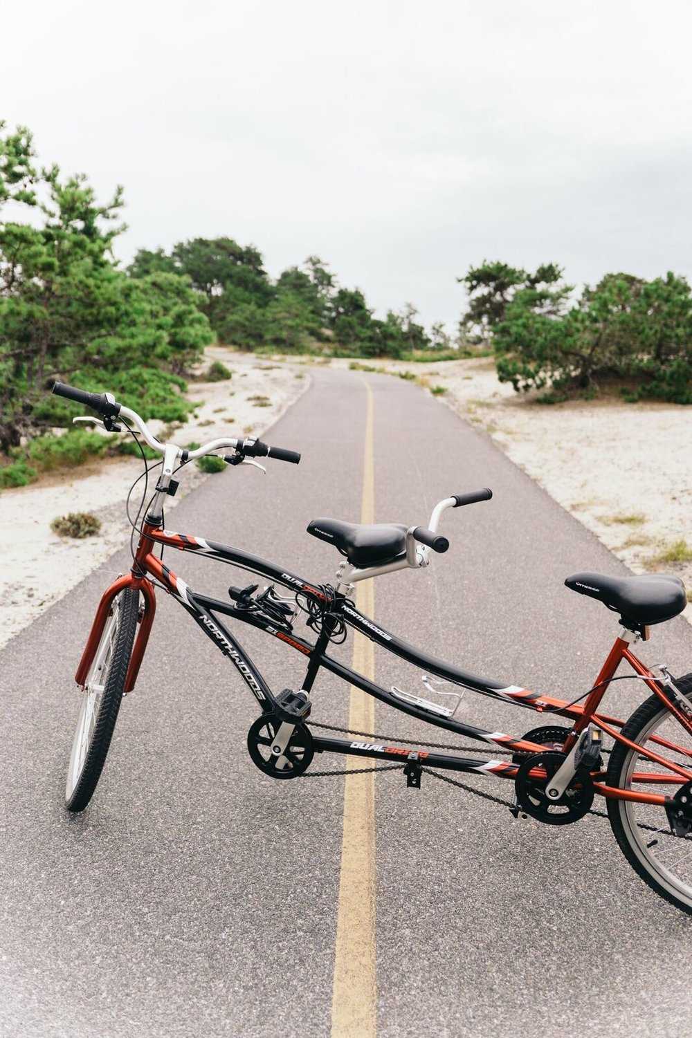 Renting a tandem bike was the best/worst idea ever