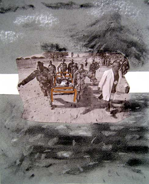 Election series, Charcoal on paper, 2004 - 2005