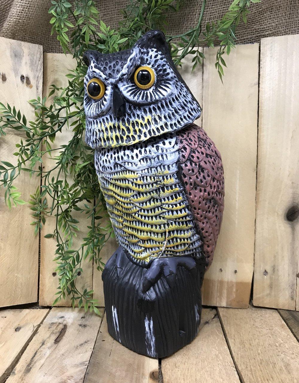 Garden Defense Bobble Head Owl