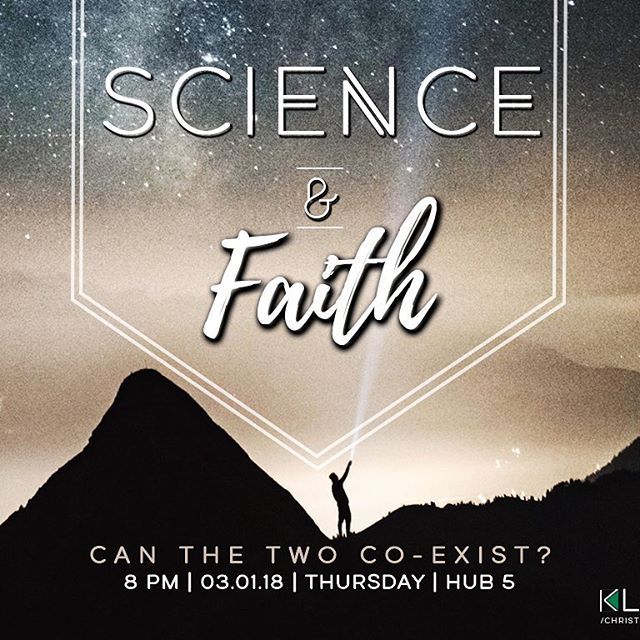 How can science and faith coexist!? Come and find out! 🔭🔬#gmuklesis #mindblown