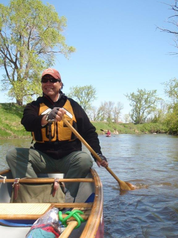 Brian Wojtalewicz kayaking