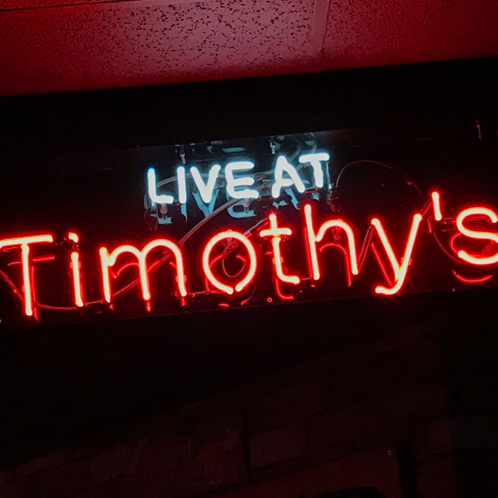 LIVE AT TIMOTHY'S - When:Saturday, June 23rd, 2018Where: Timothy's Pub344 Brown's Line, Etobicoke