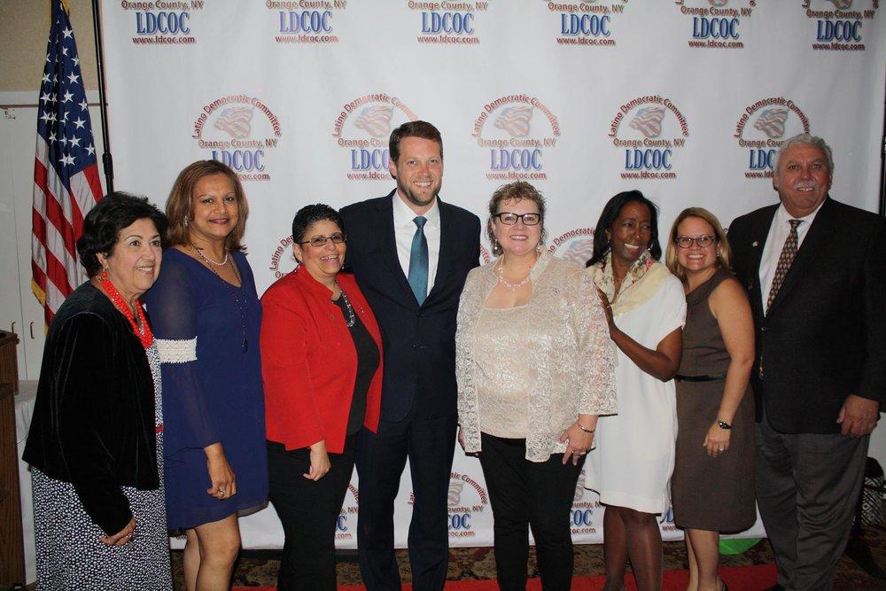 Pat Davis with LDCOC members