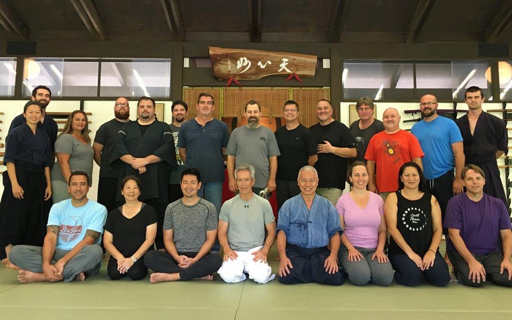 HPM Leadership Team at Chozen-ji.