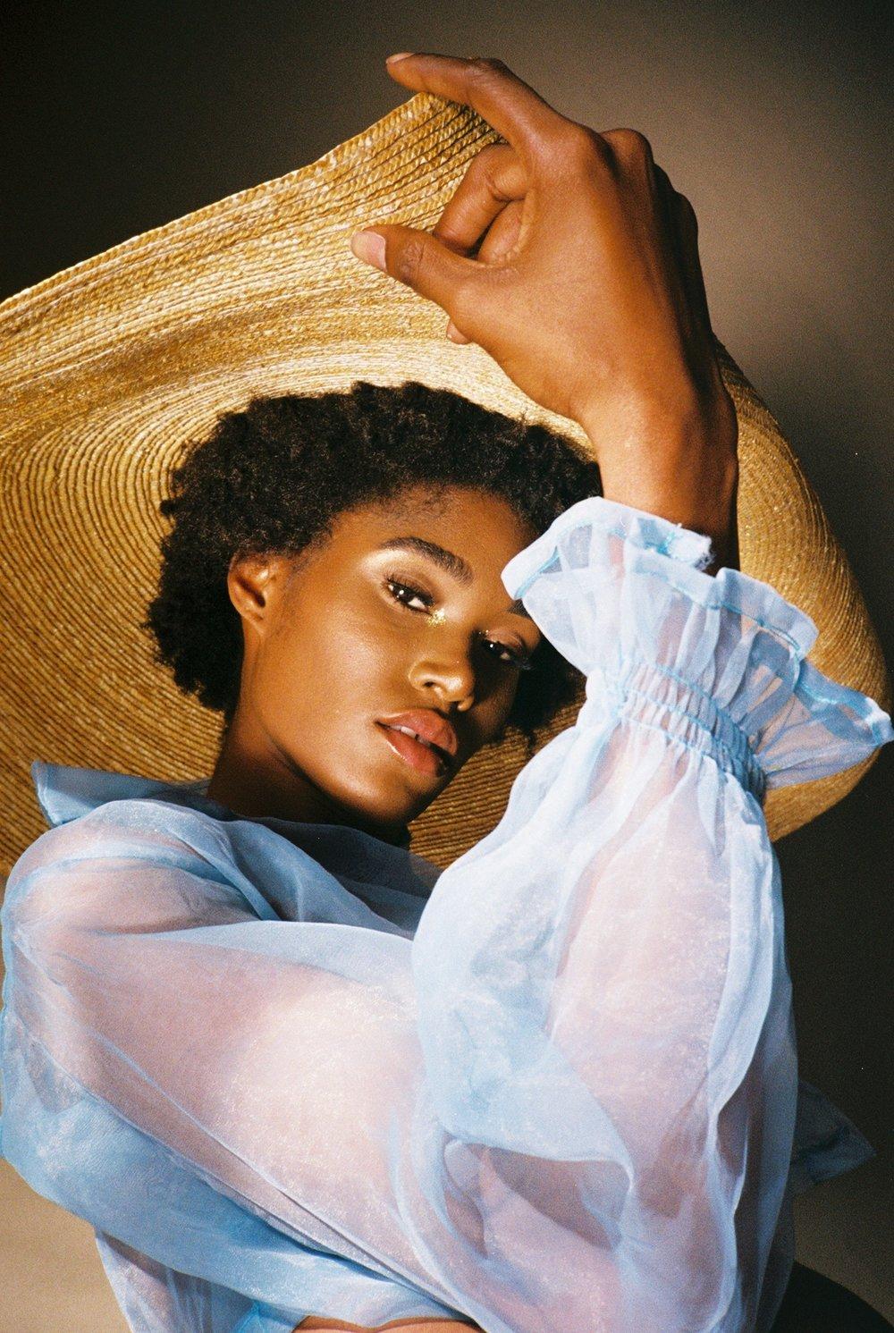 We collaborated with Herione ( community marketplace for women's clothing )   Models - Eka Eyoh , Akua Sinobe