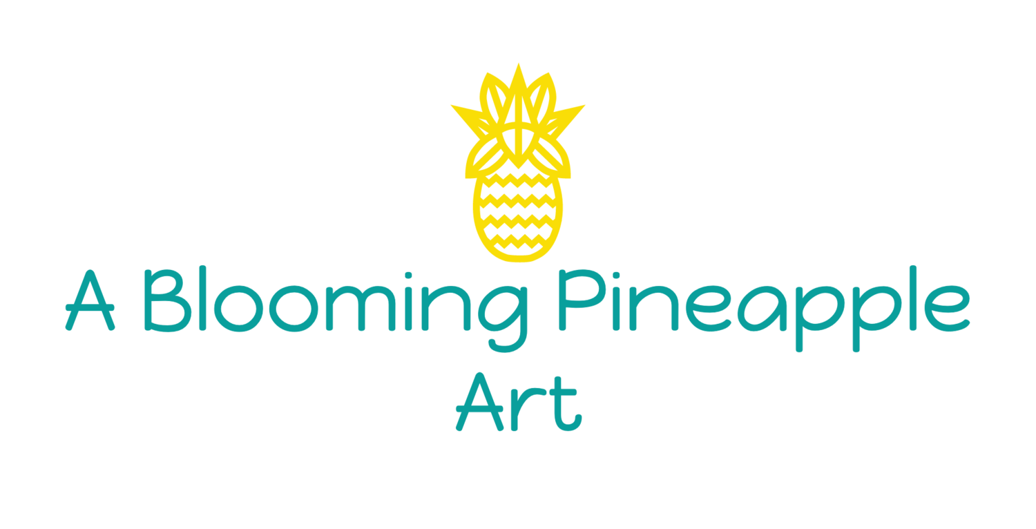 A Blooming Pineapple Art