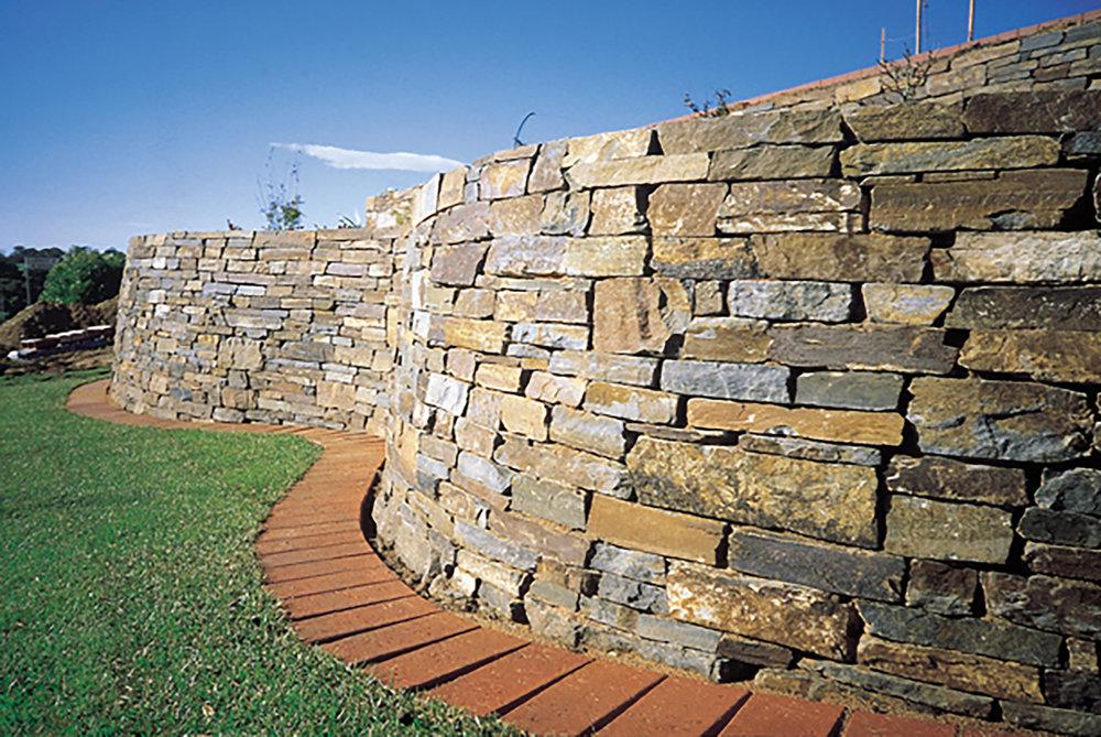 Wistow Stone Random Walling