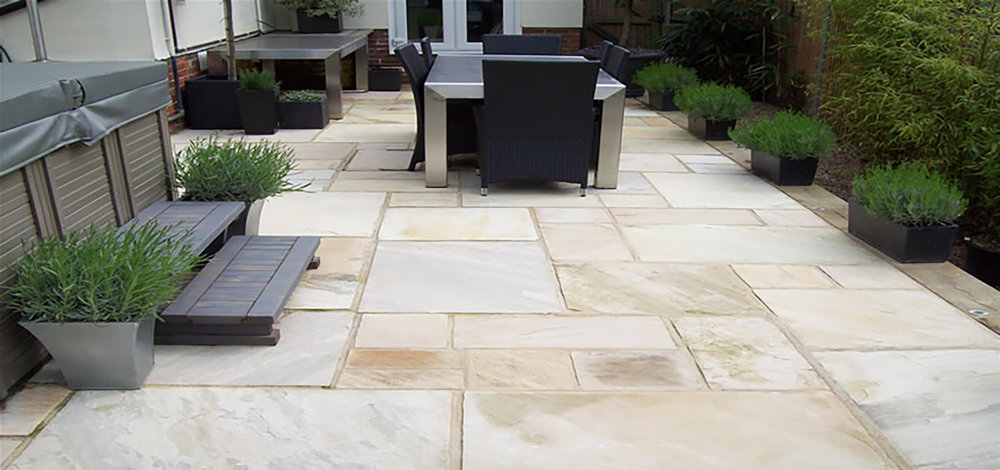 Kimberley Beige Sandstone around Spa