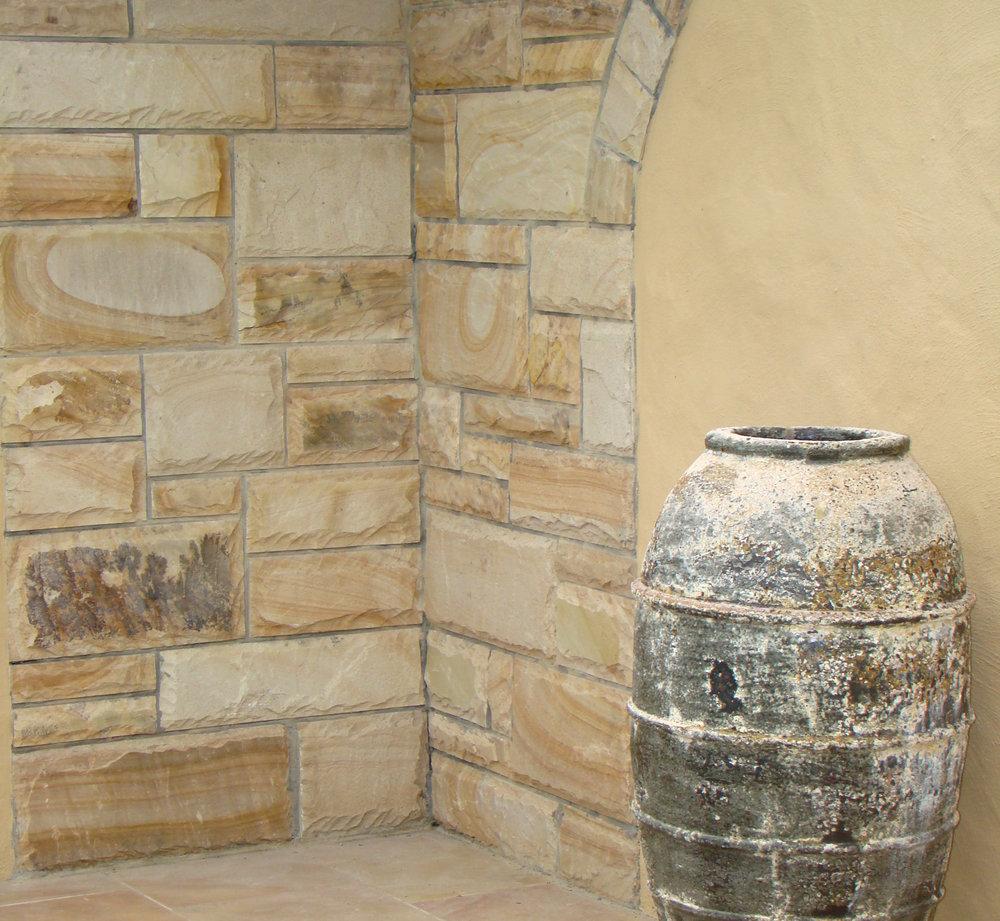 Desert Sand Sandstone Wallfacing