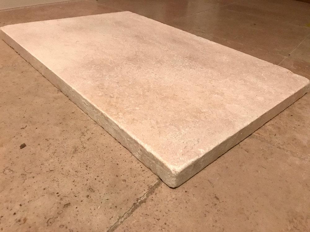 Luxor Limestone Tumbled Edge Coper