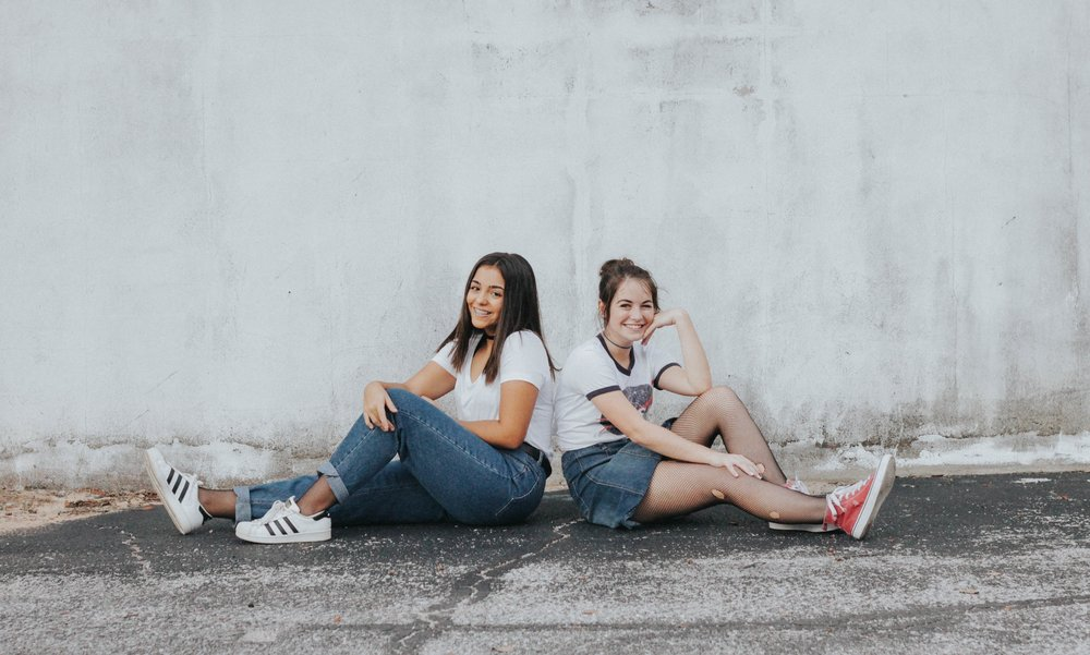 CeAnna & Elise - When I heard the idea for a best friend photoshoot, I was immediately on board! These two were so fun to work with and they both seriously killed the model game.