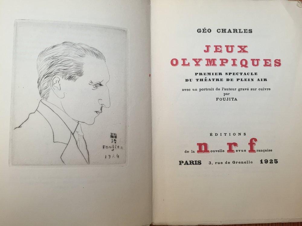 "Géo-Charles, ""Jeux Olympiques"""