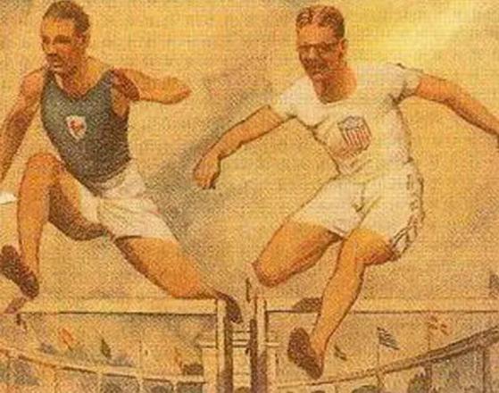 "Henriette Brossin de Polanska, ""The Jump"""