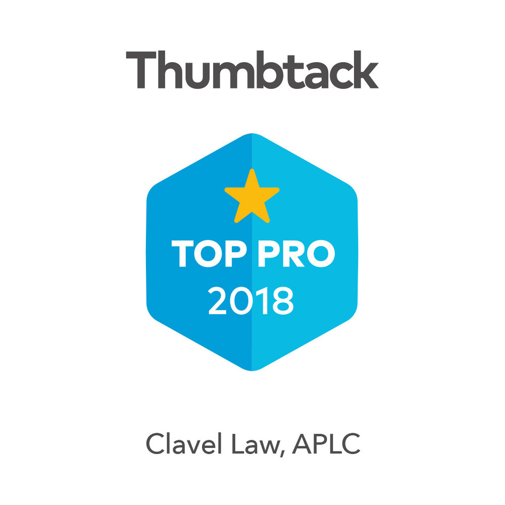 Top-Rated Attorney - Robert A. Clavel is a top-rated attorney in Southern California. Thumbtack has honored him as a