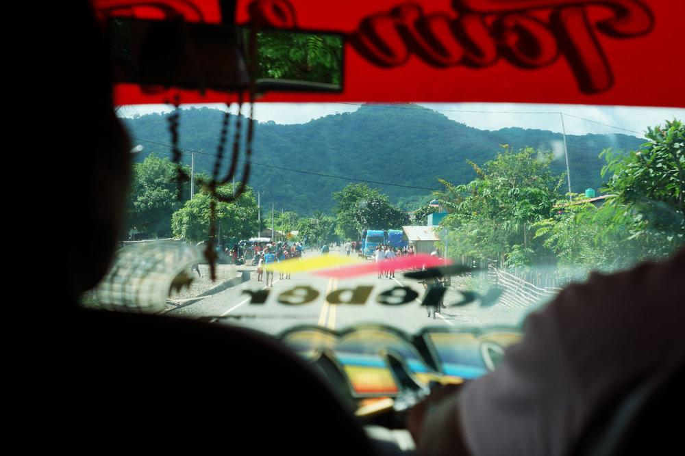 En route to Kupang.