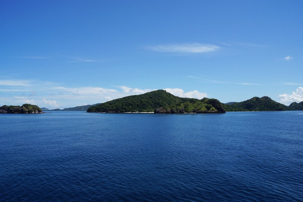 One of an endless array of islands between Labuanbajo and Sape.