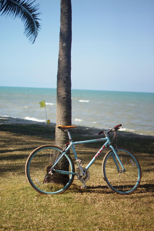 My borrowed ride in Songhkla.