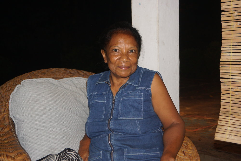 SImona Tilman in Villa Verde, Dili. (Edward Cavanough, February 1 2018).