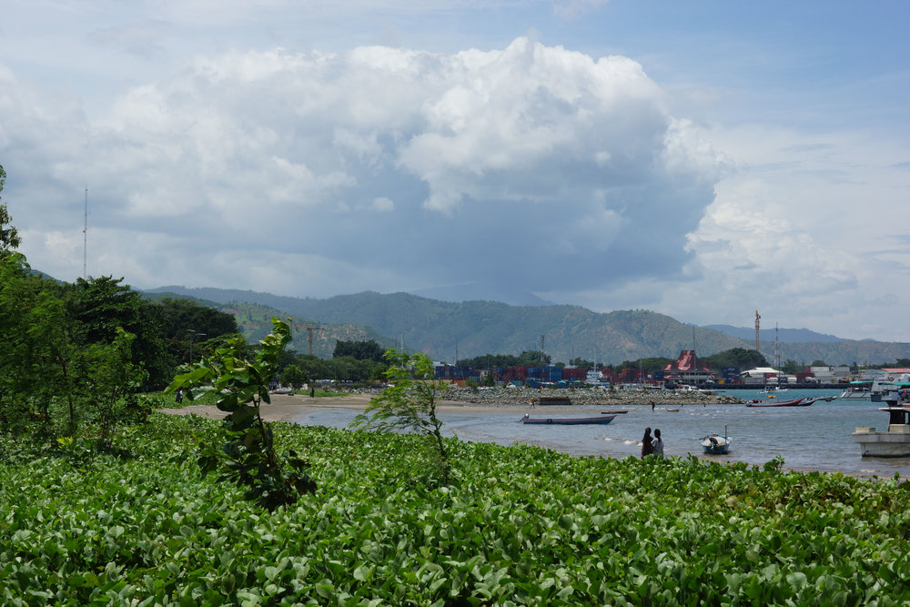 Storms brewing over Dili. (Edward Cavanough, January 27 2018).