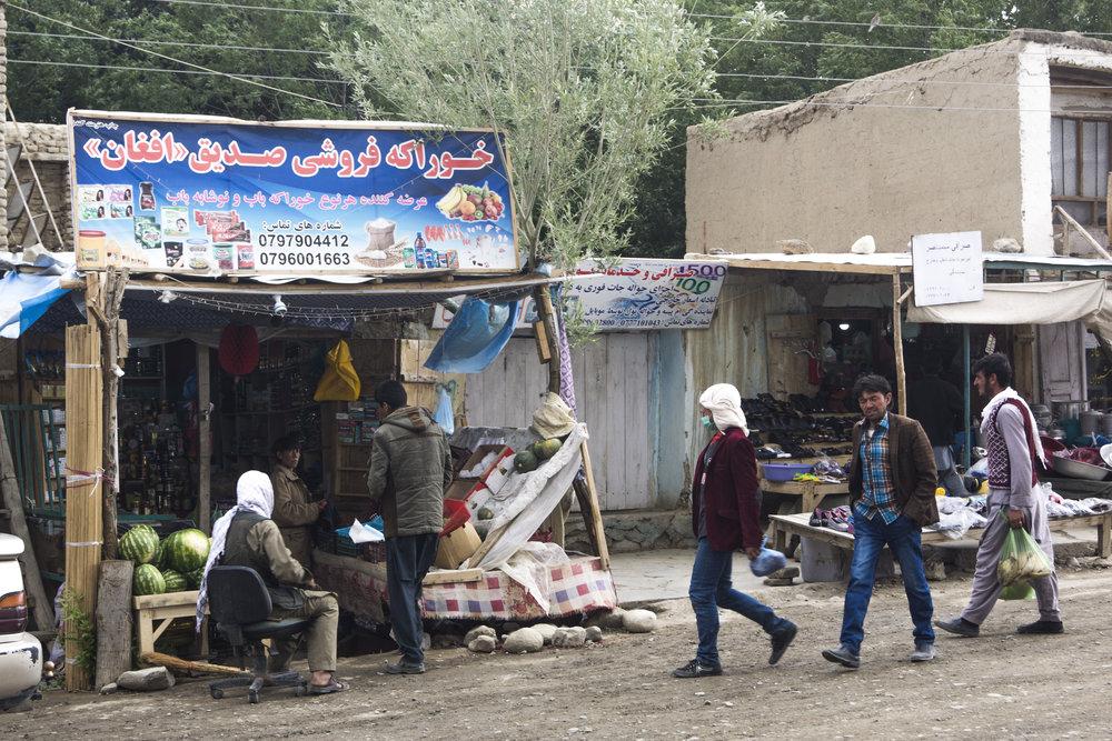 Ishkashim bazaar.
