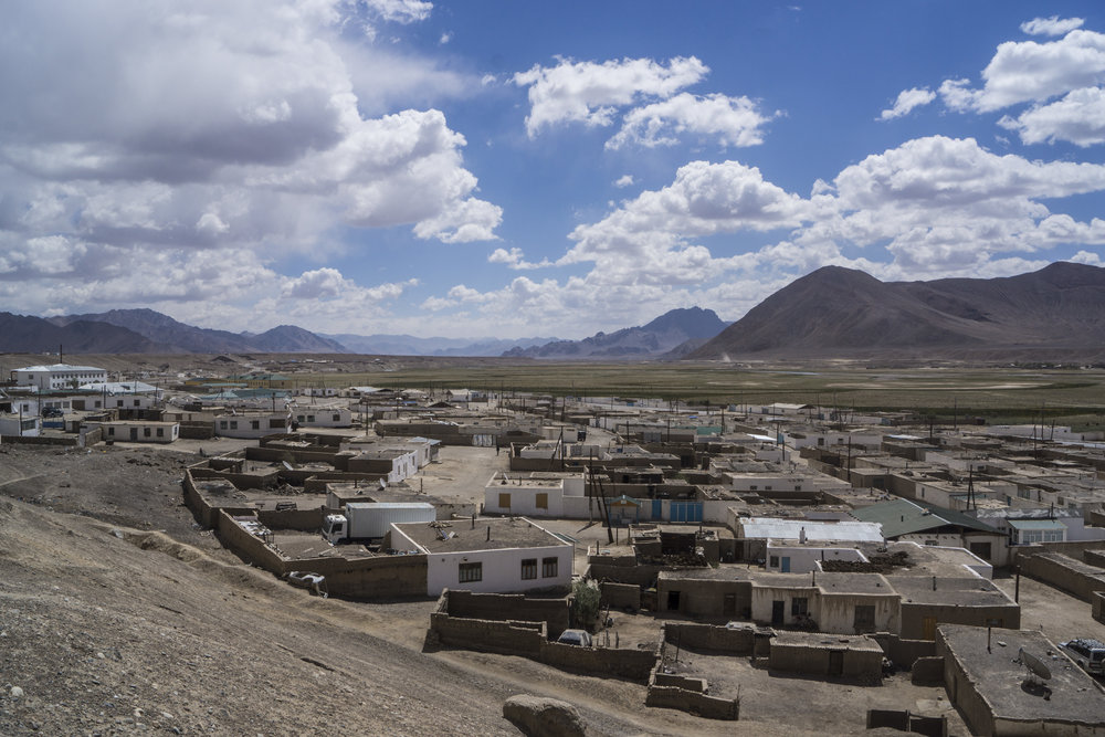 Murghab, Tajikistan : a quiet, treeless, somewhat  soul less place. But a staging ground to the remarkable playground that is the Pamir.