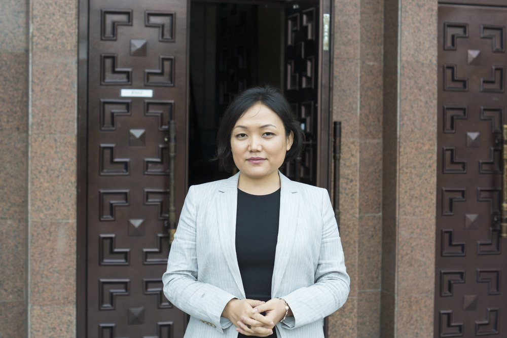 Aida Kasymalieva:  A Kyrgyz MP, Aida is leading the fight against bride kidnapping in Kyrgyzstan - a scourge that still exists in an otherwise modernising society. I interviewed her in Bishkek - her optimism and resillience was an inspiration.