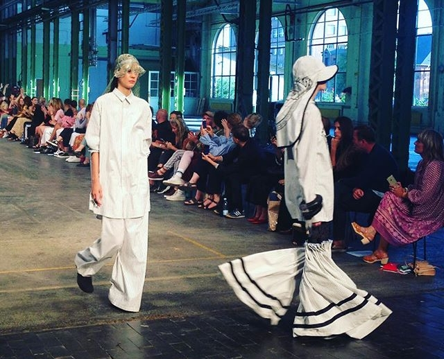 ASTRID ANDERSON - Known for her menswear collections and specialising in Sportswear.Astrid was welcomed to CFW with her second womenswear collection for SS/18.PHOTOGRAPH: Instagram (@nicolalifestyle)
