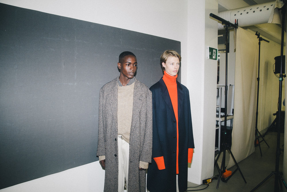 HOPE - AT Gävlegatan 12AStating themselves, Hope are a brand that claims that style comes before gender within their collection. This is obvious through their SS18 collection with the influence of suiting and dominant plaid and check.PHOTOGRAPH: Olof Grind