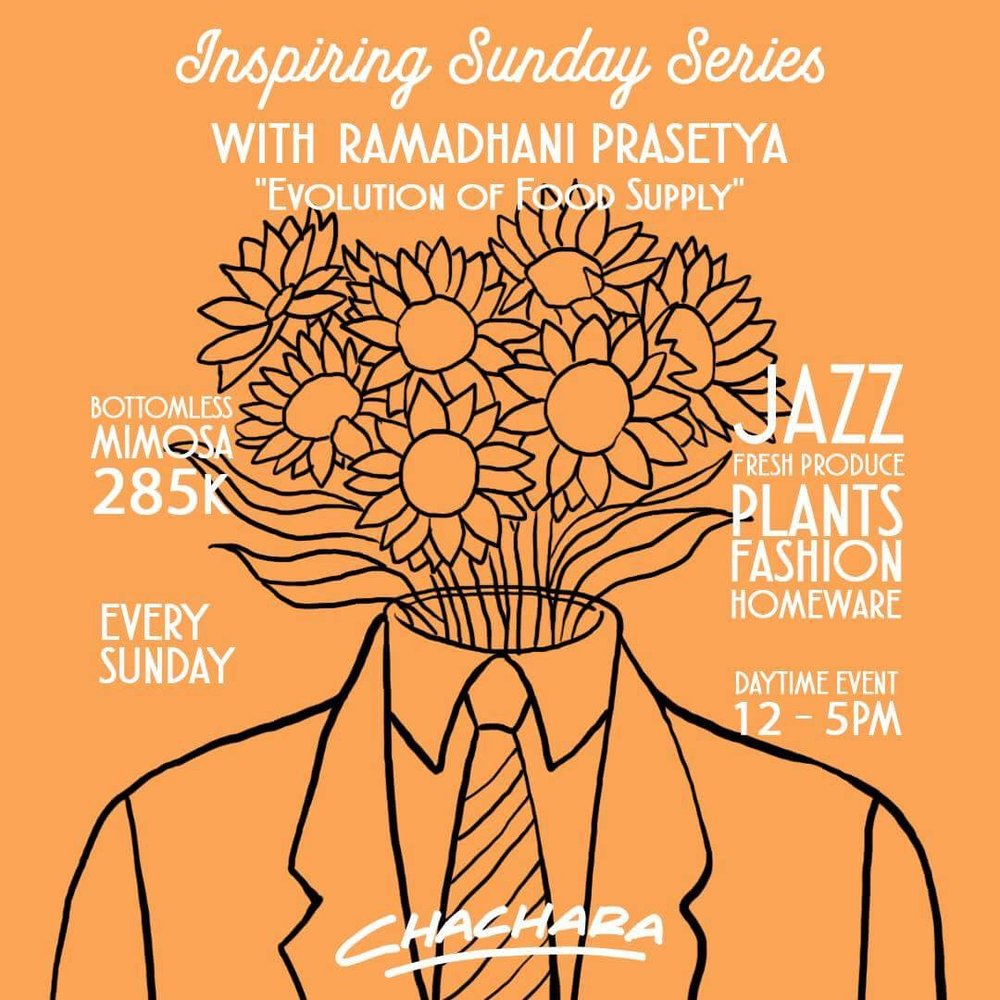 Inspiring Sunday Series  - Week 3:Ramadhani Prasetya