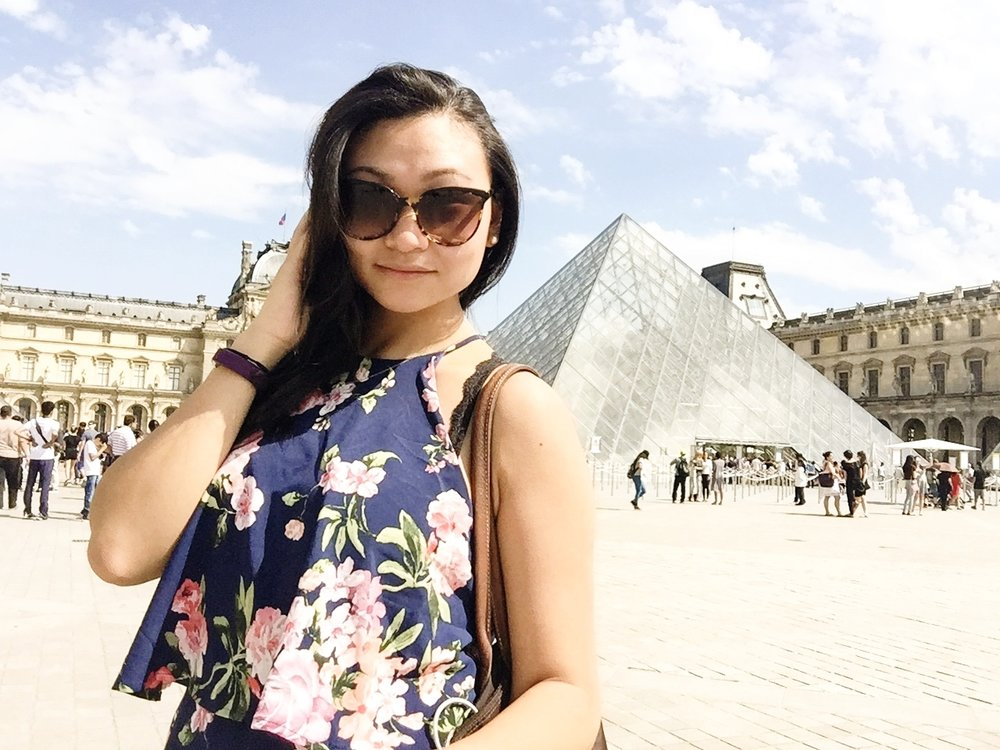 in Louvre!