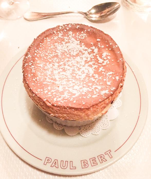 The fluffliest soufflé at Paul Bert.