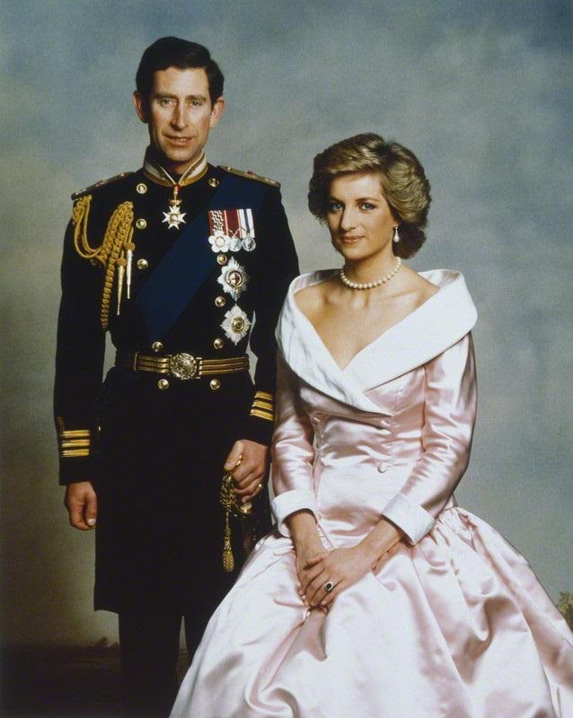 Prins Charles en Prinses Diana, januari 1988. Foto:Terence Donovan/Rex/Shutterstock