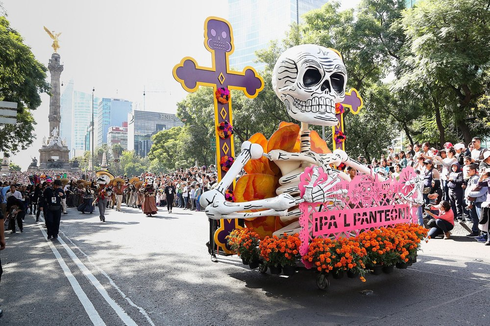 Hoe doen ze het in Mexico? - Dia de los Muertos