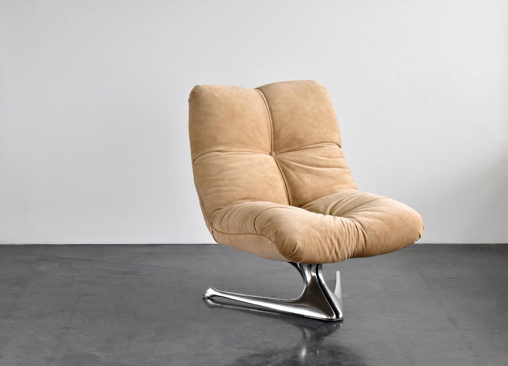 Vladimir Kagan Unicorn Lounge Chair 1