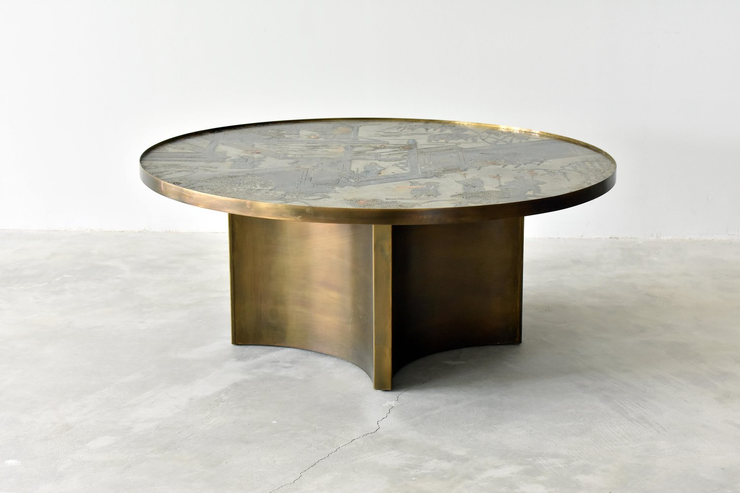 Philip Laverne Coffee Table.Philip Kelvin Laverne Rare Chan Coffee Table Ponce Berga
