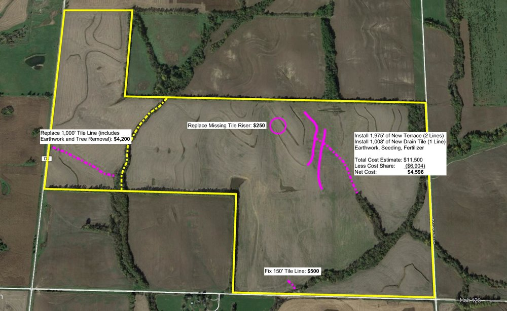 Proposed projects for East of DD Tract and Southeast Tract.