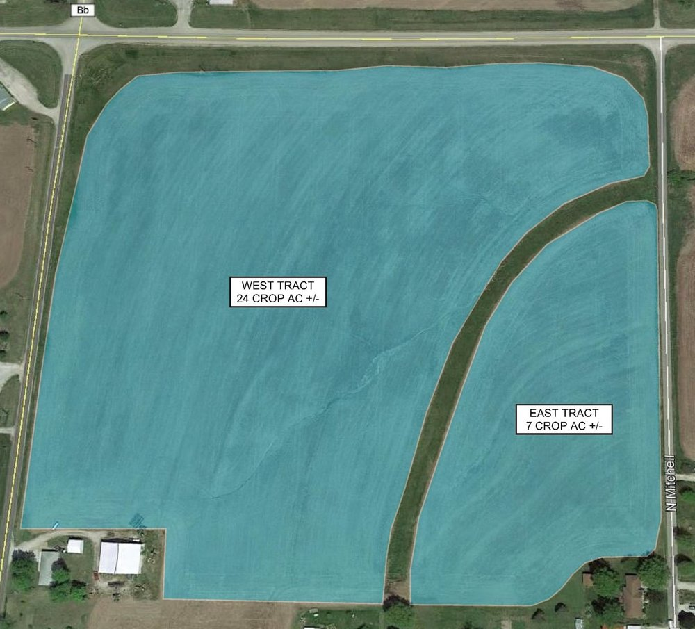 Tract Map: 31 Crop Acres