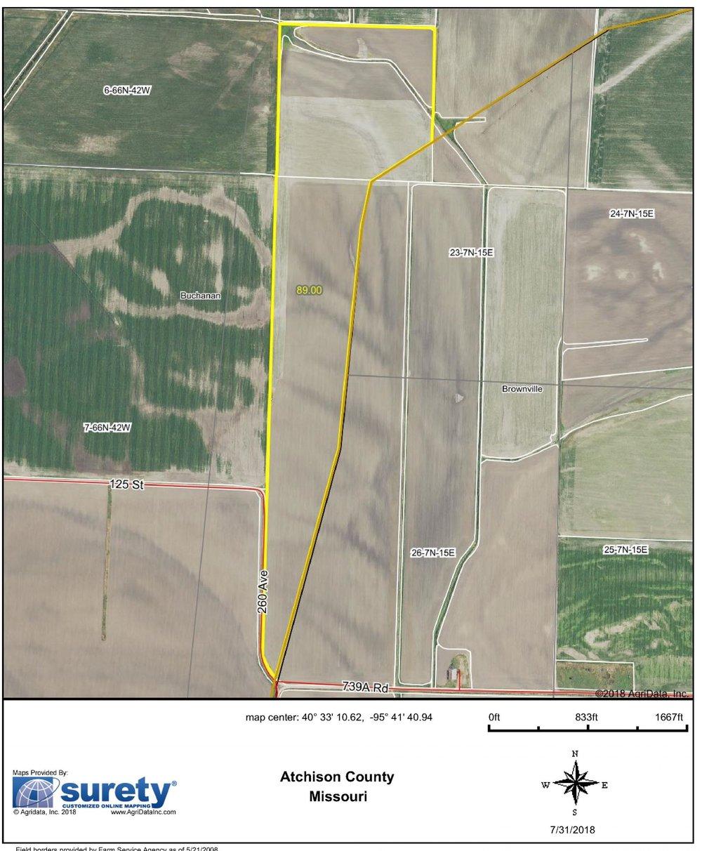 FSA Map: 89 Farm Acres