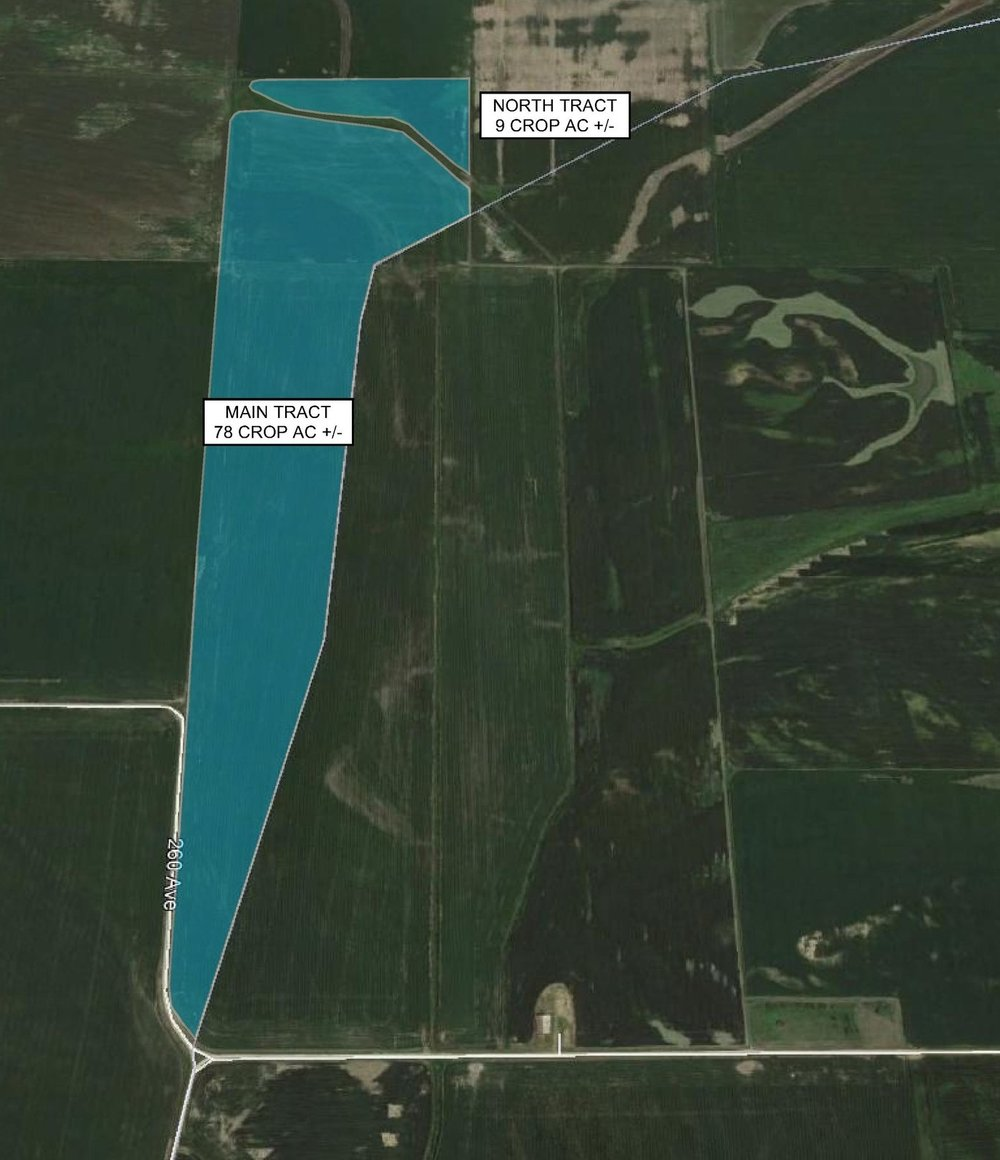 Tract Map: 87 Crop Acres