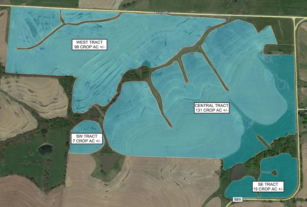 Tract Map: 251 Crop Acres