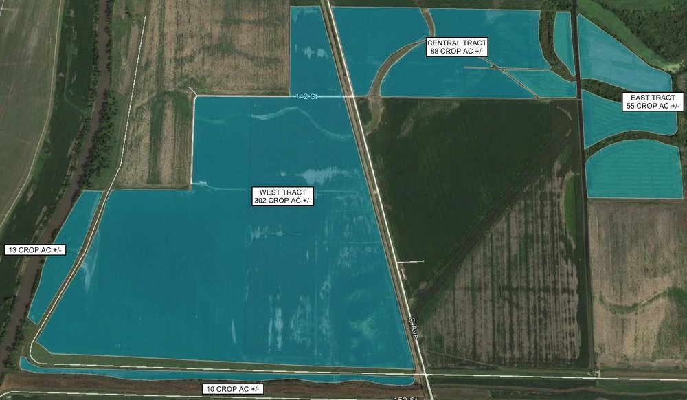 Tract Map: 468 Crop Acres