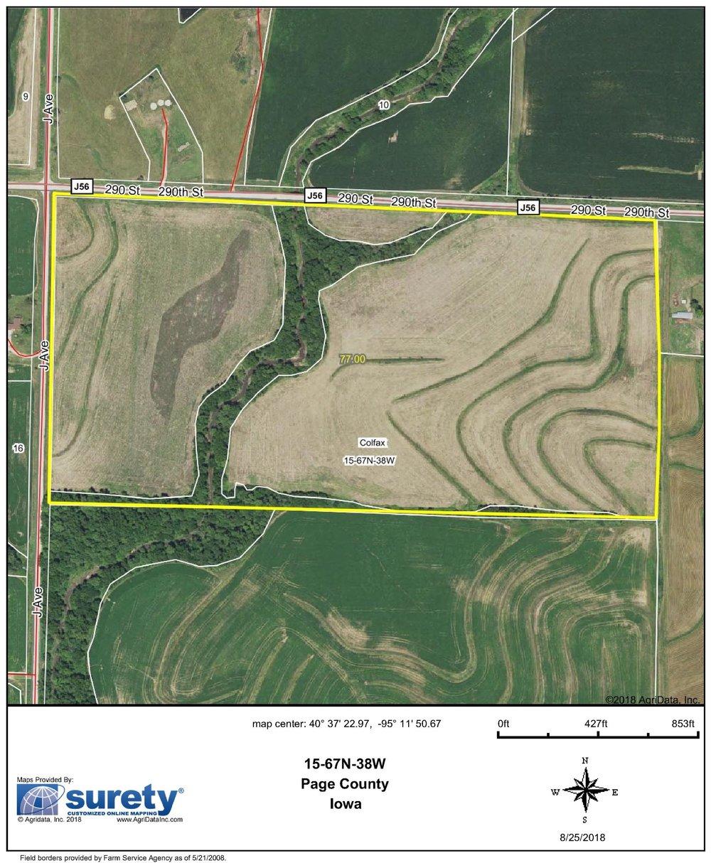 FSA Map: 77 Farm Acres