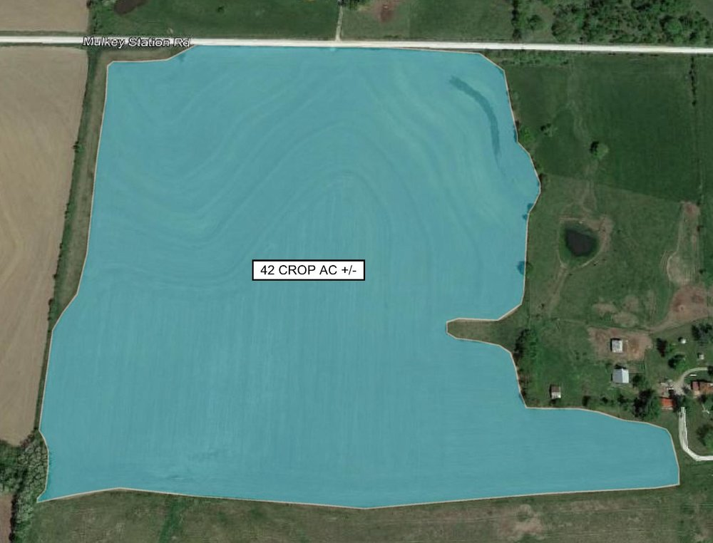Tract Map: 42 Crop Acres