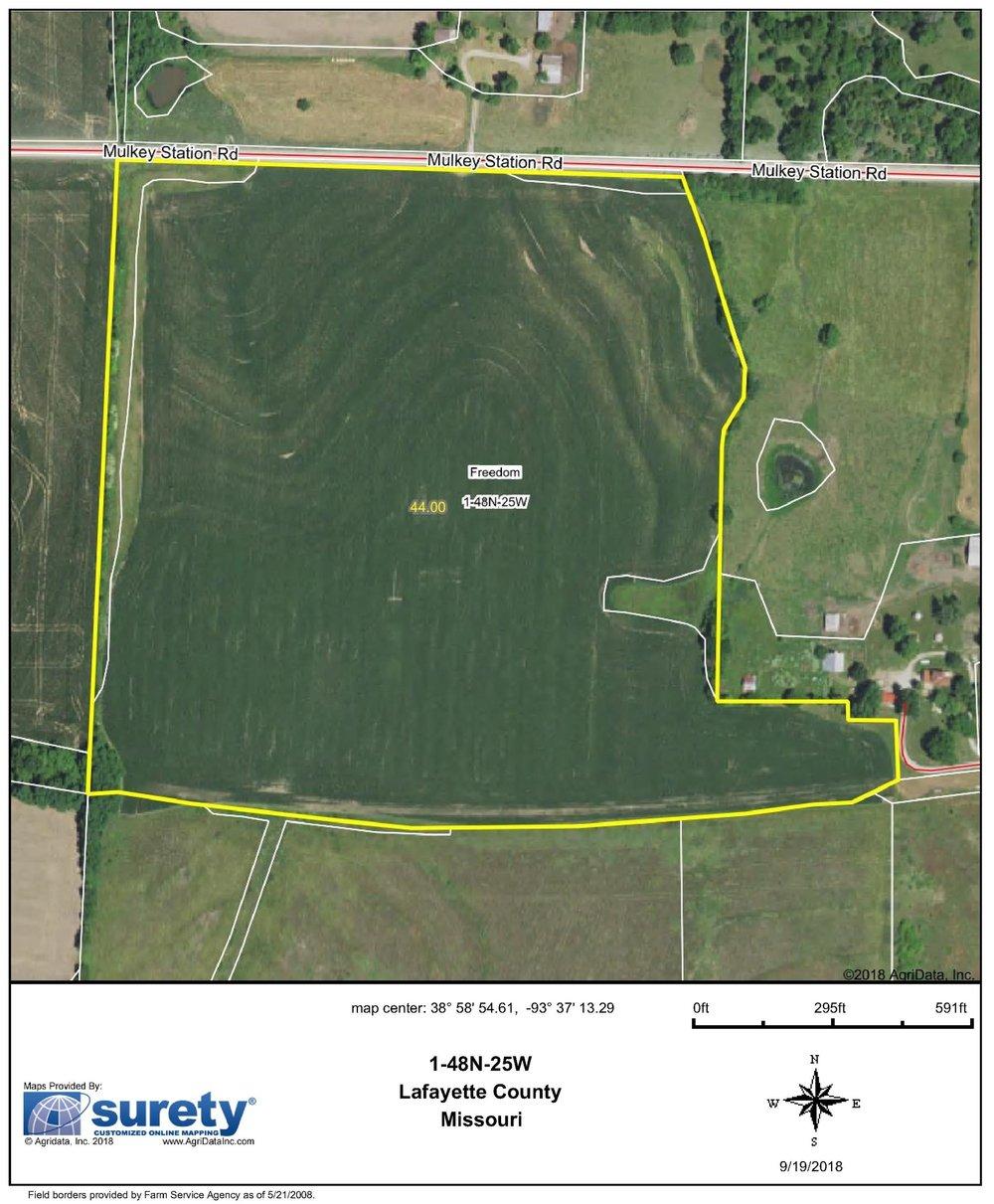 FSA Map: 44 Farm Acres