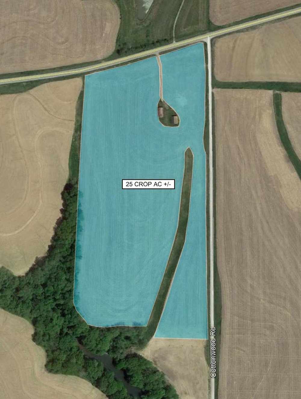 Tract Map: 25 Crop Acres