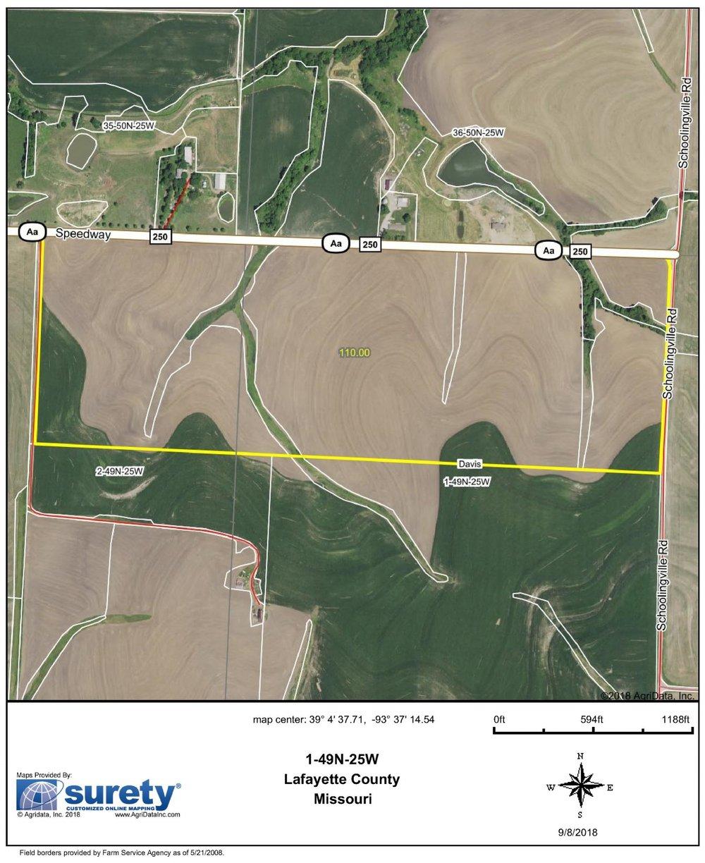 FSA Map: 110 Farm Acres