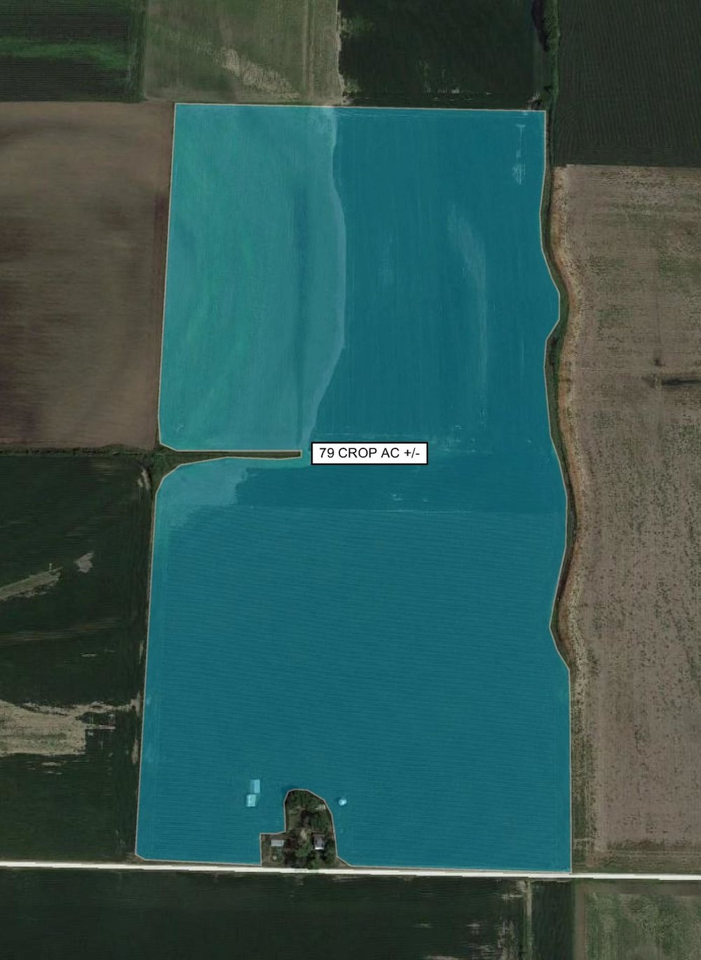 Tract Map: 79 Crop Acres