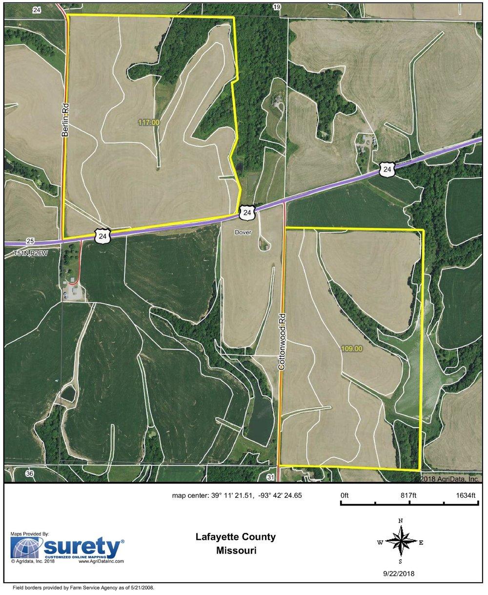 FSA Map: 226 Farm Acres
