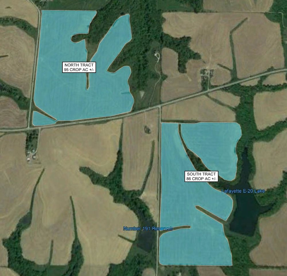 Tract Map: 181 Crop Acres