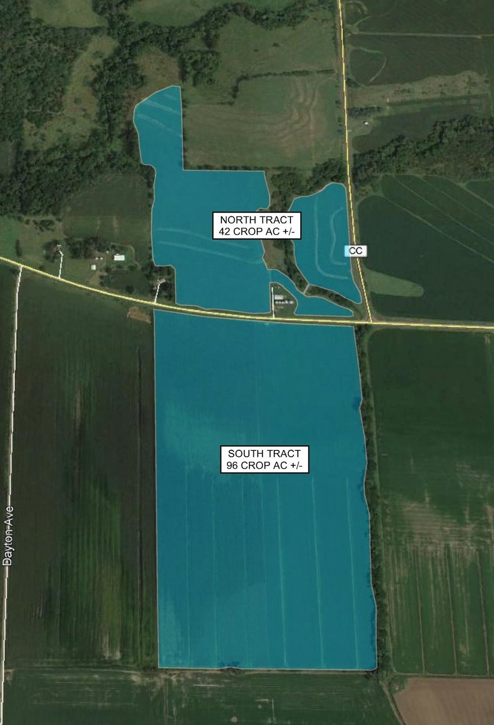 Tract Map: 138 Crop Acres